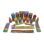 Cut Price Fireworks Leicester Typhoon Selection Box Contents