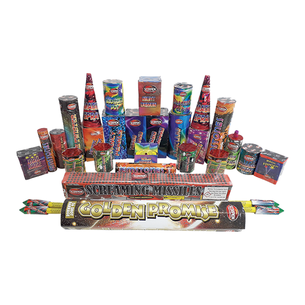 Cut Price Fireworks Leicester Warrior Contents