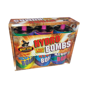 Cut Price Fireworks Leicester Hydro Bombs 3 Pack Mine