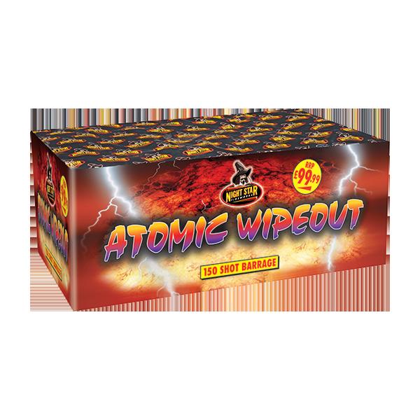 Nightstar Atomic Wipeout 150 Shot Cake