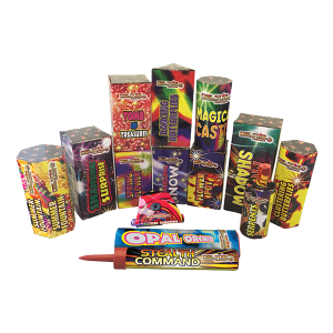 Cut Price Fireworks Leicester Cruiser Selection Box Contents