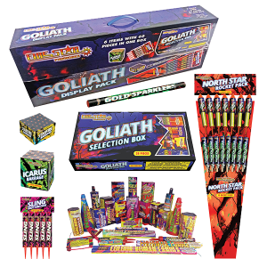 Cut Price Fireworks Leicester Goliath Display Pack