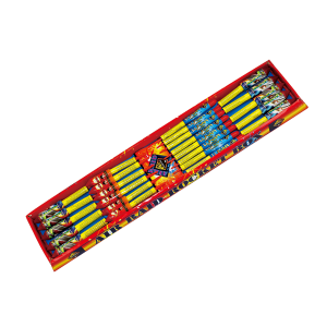 Cut Price Fireworks Leicester Air Raid 24 Piece Rockets