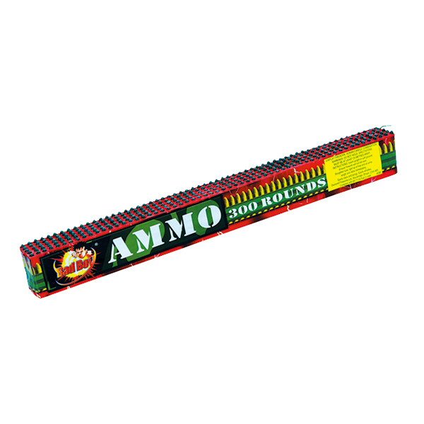 Cut Price Fireworks Leicester Bad Boy Ammo 300 Rounds Barrage