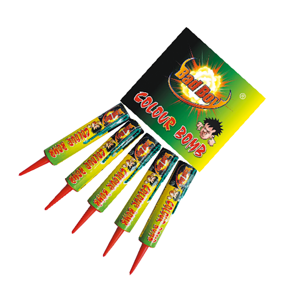 Cut Price Fireworks Leicester Colour Bomb 5 Pack