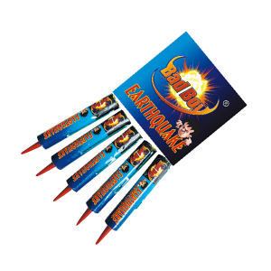 Cut Price Fireworks Leicester Earthquake 5 Pack