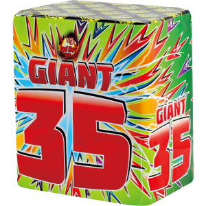 Cut Price Fireworks Leicester Giant 35 Shot Barrage