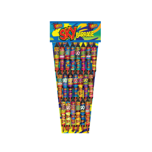 Cut Price Fireworks Leicester Sky Barrage 21 Pack