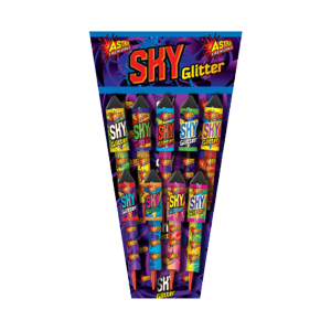 Cut Price Fireworks Leicester Sky Glitter 9 Pack